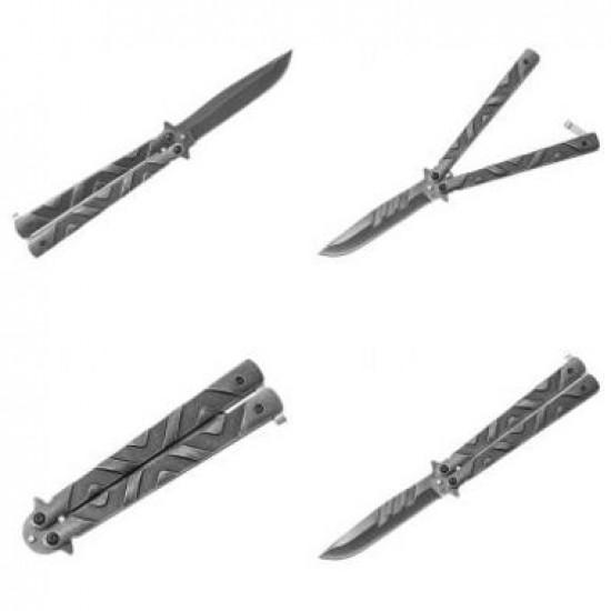 Nôž motýlik 02105 Albainox stonewash