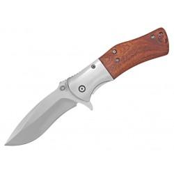 Zatvárací nôž Albainox 18555 drevo/kov
