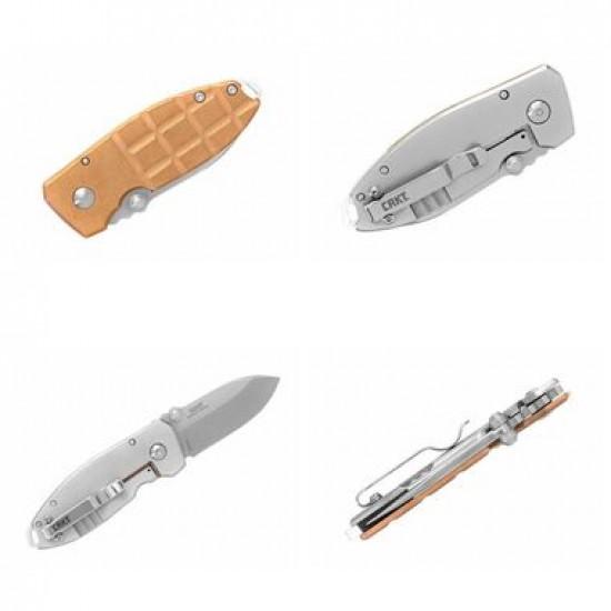 Zatvárací nôž CRKT 2490CUS Squid Grenade