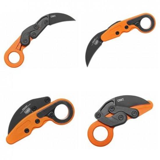 Zatvárací nôž CRKT 4041O Provoke Orange karambit