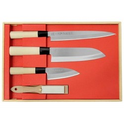Sada kuchynských nožov Herbertz 392900 3 ks + brúsik