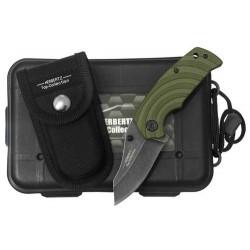Zatvárací nôž Herbertz 524309 TC zelený