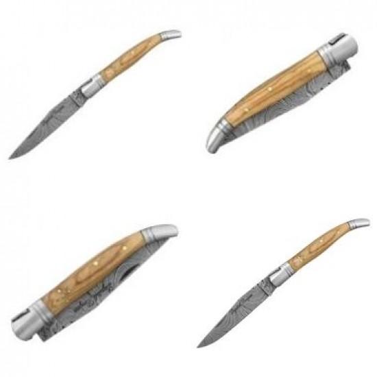 Zatvárací nôž Laguile Bougna 5862 damaškový