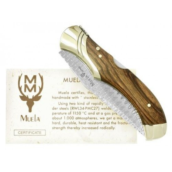 Vreckový nôž Muela GL 10DAM damaškový