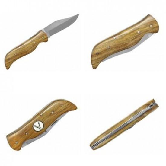 Zatvárací nôž NKM 8006 drevo jeleň