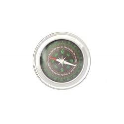 Palubný kompas strieborný 7,5 cm