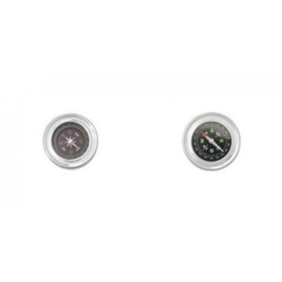 Stolný kompas 9339 strieborný 6 cm