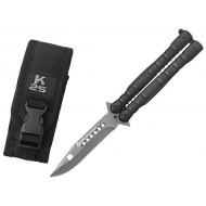 Nôž motýlik RUI Tactical (K25) 02131 čierny