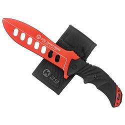 Nôž RUI Tactical (K25) 32181 tréningový veľký červený