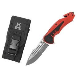 Zatvárací nôž RUI Tactical (K25) 18319 záchranársky