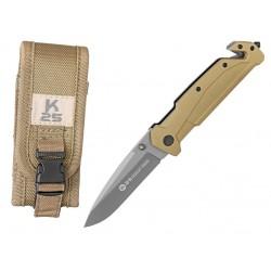 Zatvárací nôž RUI Tactical (K25) 18487 záchranársky