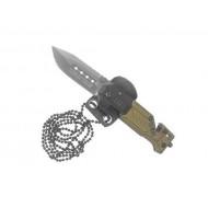 Zatvárací nôž  RUI Tactical (K25) 19652 na krk