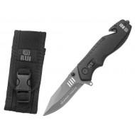Zatvárací nôž RUI Tactical (K25) 19801 záchranársky