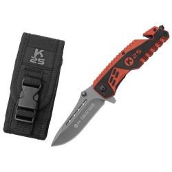 Zatvárací nôž RUI Tactical (K25) záchranársky